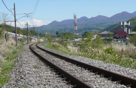 東吾妻自転車型トロッコ 田園コース