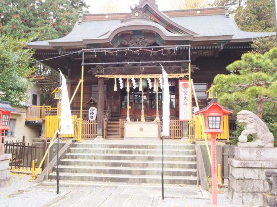長良神社 社殿