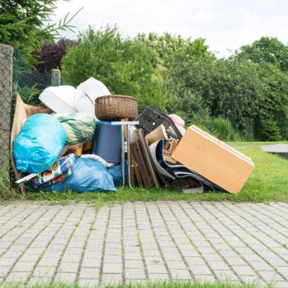引越し不用品 引っ越しゴミが出たイメージ