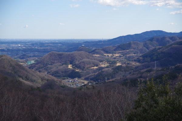 牛伏山自然公園 展望台からの景色3