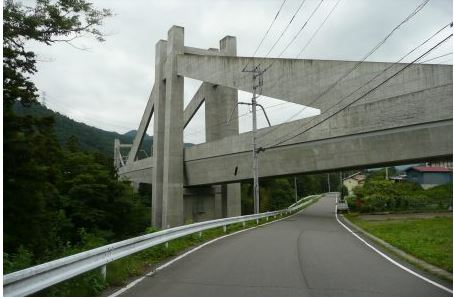 東吾妻自転車型トロッコ 第2吾妻川橋梁