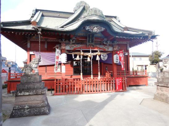 小祝神社 社殿