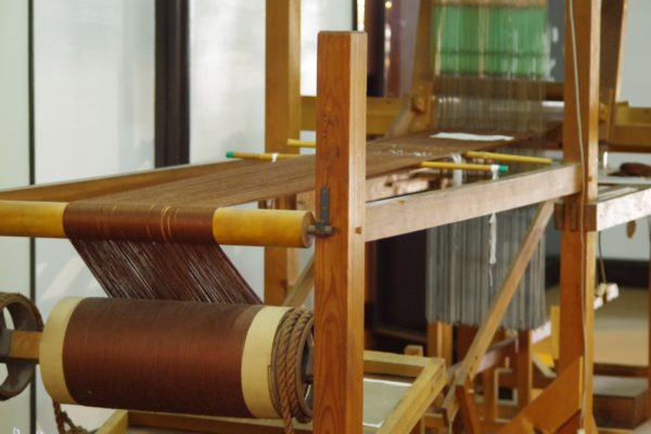 桐生織物記念館 ジャガード織機
