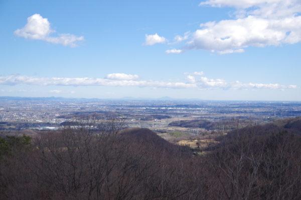 牛伏山自然公園 展望台からの景色4