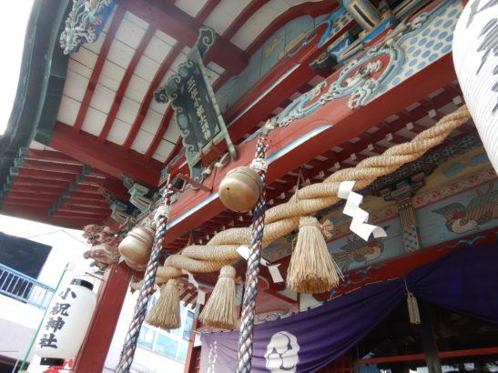 小祝神社 屋根の造り