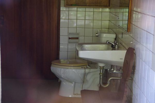 旧井上房一郎邸 トイレ