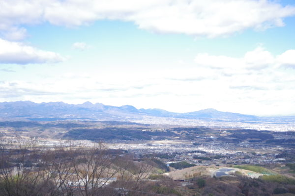 牛伏山自然公園 眺め