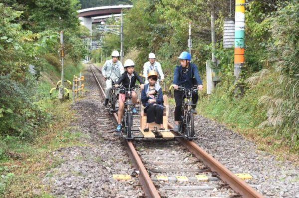東吾妻自転車型トロッコ 1人乗り