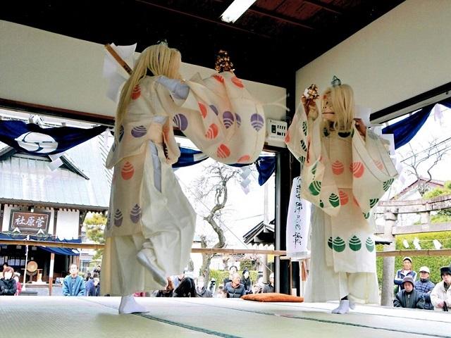 薄根河内神社例大祭 伝統芸能