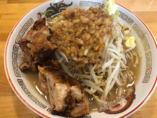 高崎のおすすめラーメン ラーメン伝次郎のラーメン