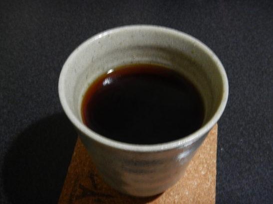 まじヤバくない?と大和屋コラボ コーヒーが出来上がったところ