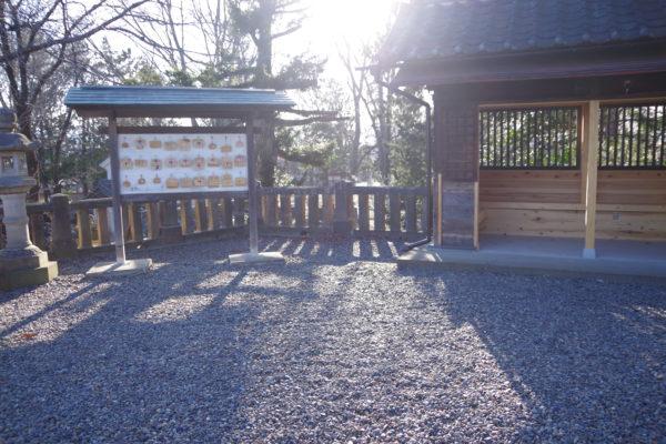 富士浅間神社 境内
