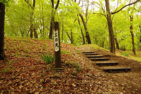 山上城跡公園 二の丸