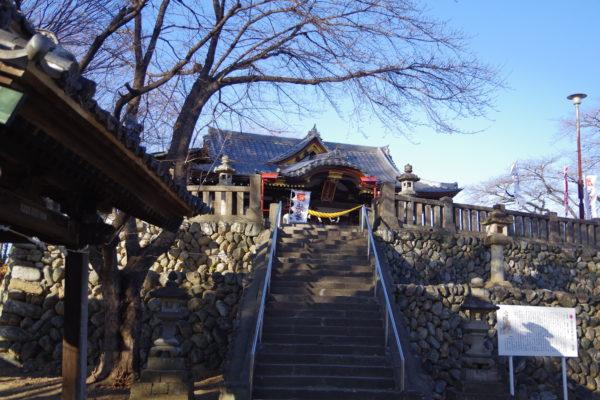 富士浅間神社 本殿への階段