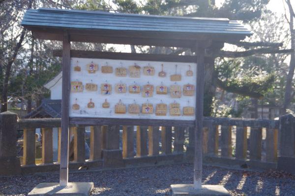 富士浅間神社 絵馬掛所