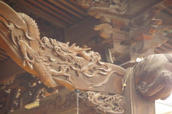 伊勢崎神社 彫刻