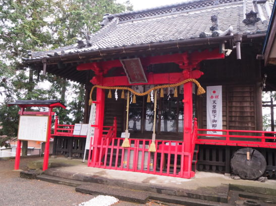 五霊神社 拝殿