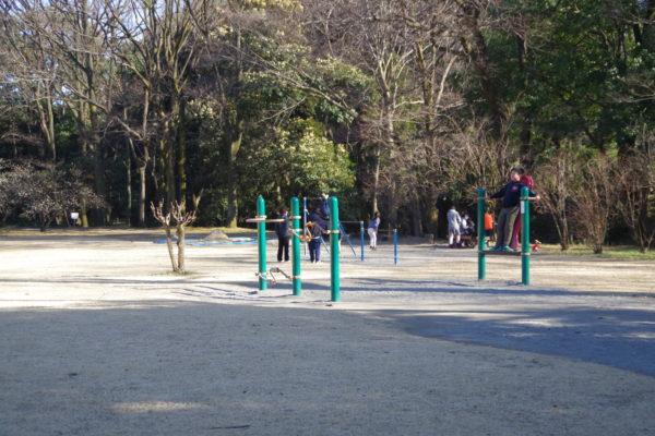 群馬の森 あそびの広場遊具2