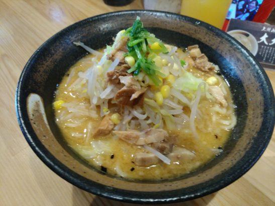 大大坊 味噌山賊麺