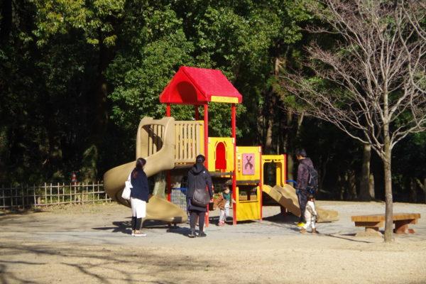 群馬の森 あそびの広場遊具1