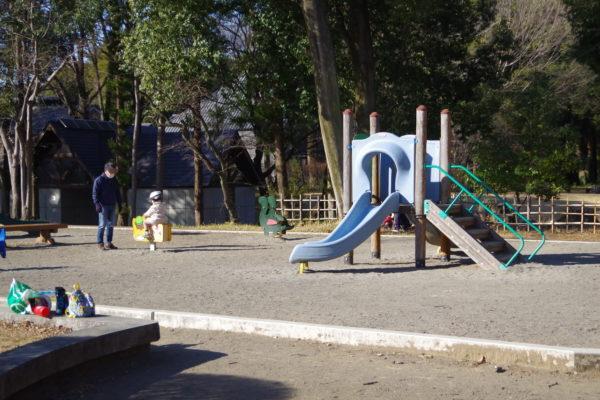 群馬の森 あそびの広場滑り台