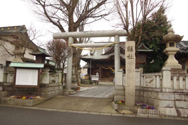 伊勢崎神社 鳥居