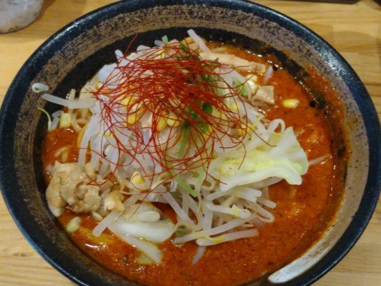 大大坊 味噌山賊麺雷バージョン
