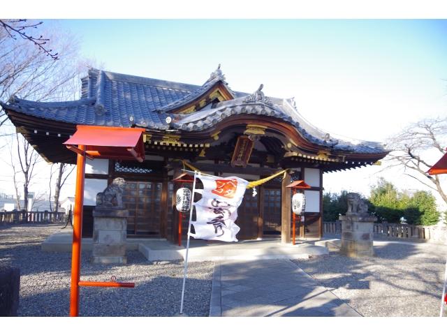 富士浅間神社 拝殿