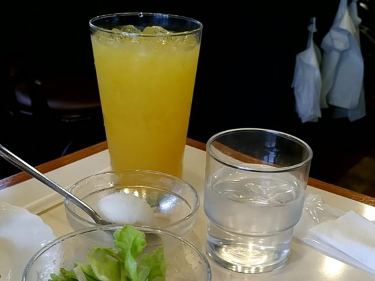いしだ珈琲 オレンジジュース