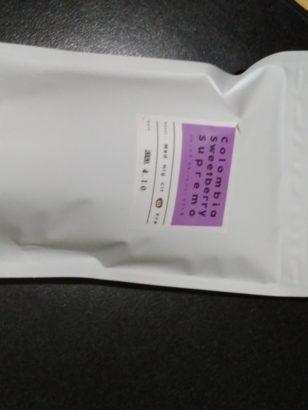 キッサコーヒー コロンビアスウィートトベリー