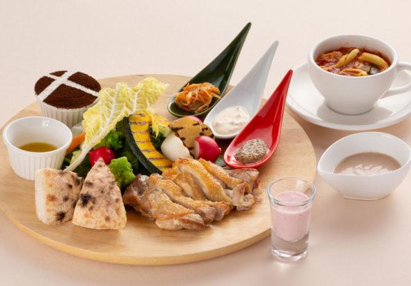 赤城高原サービスエリア上り トラットリアオゴッツォ 料理