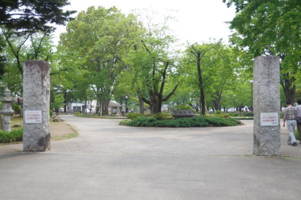 高崎公園 門