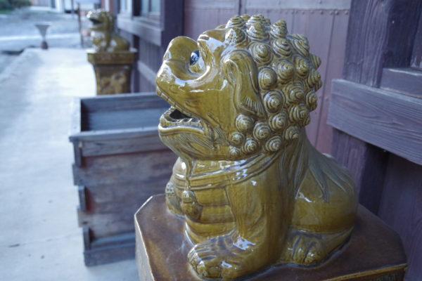 長純寺 狛犬