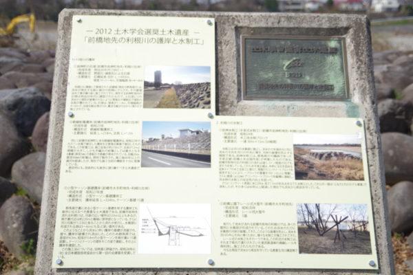 楽歩堂前橋公園 説明看板