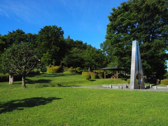 愛宕山ふれあい公園 展望台