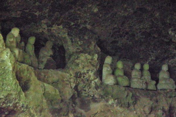 仙人窟 十八羅漢 石像