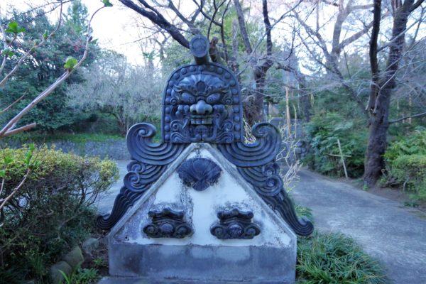 長純寺 鬼瓦