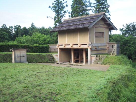 箕輪城 櫓門