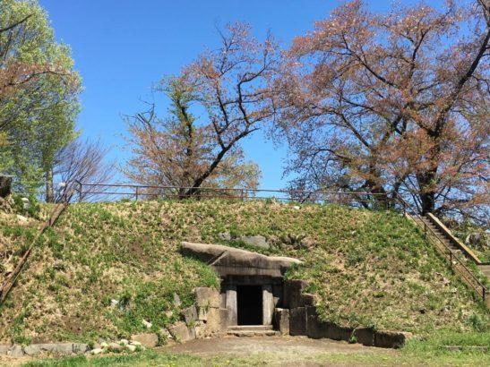 蛇穴山古墳 横穴式石室