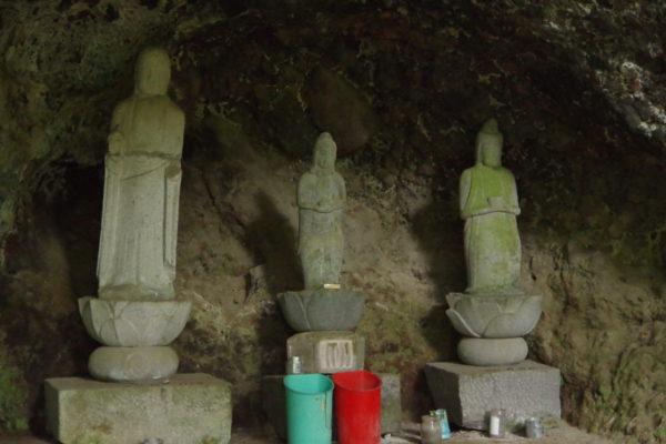 仙人窟 石像