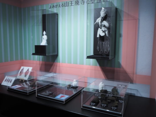 前橋市総社歴史資料館 塑像