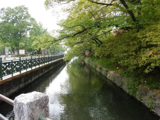高崎公園 川