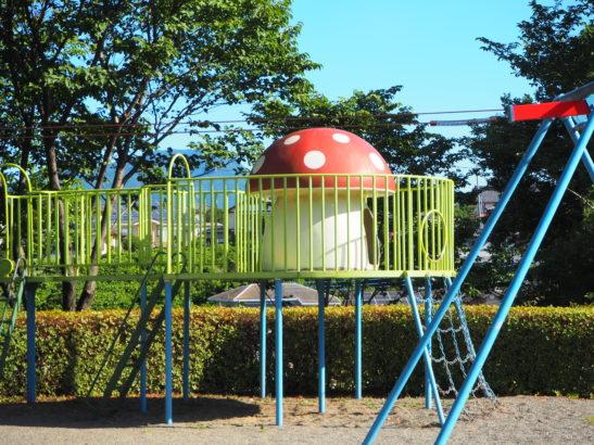 愛宕山ふれあい公園 遊具