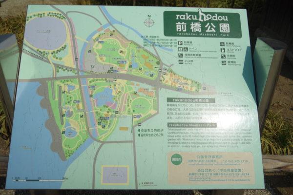楽歩堂前橋公園 地図
