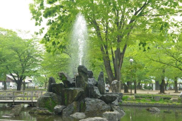 高崎公園 噴水