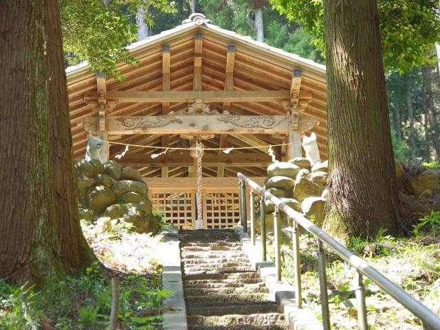 矢背負稲荷神社 神門