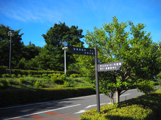 愛宕山ふれあい公園 看板