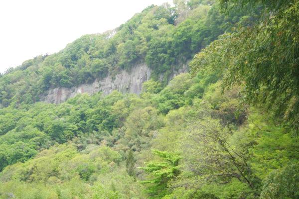 棚下不動の滝 景色