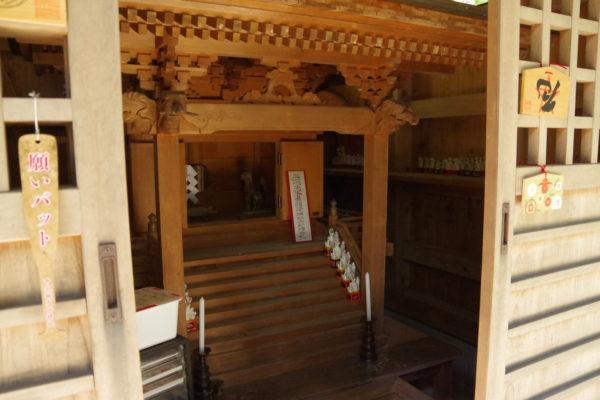 矢背負稲荷神社 拝殿