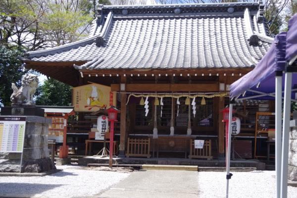 咲前神社 拝殿
